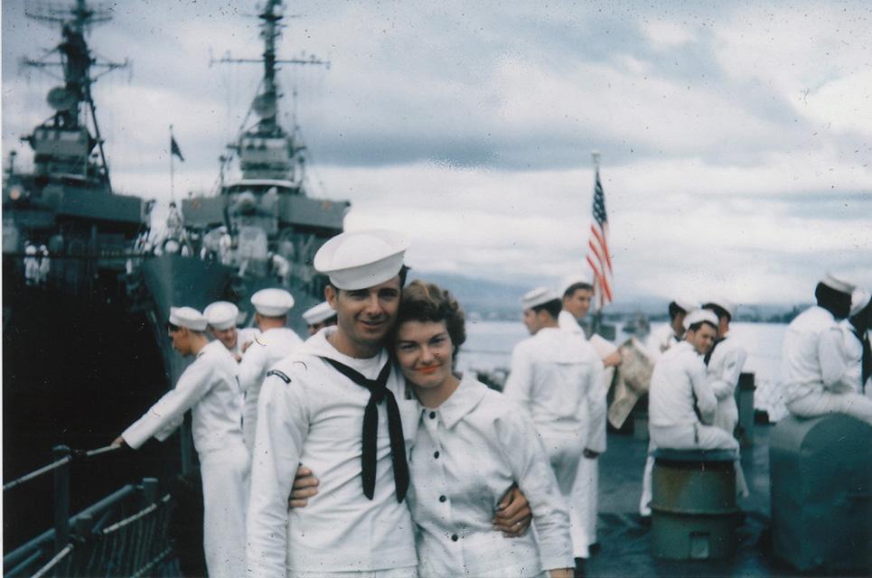 Family Day, Pearl Harbor - USS Sproston (DD-577)